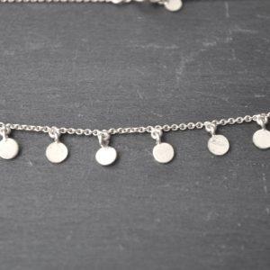 Kerala Necklace – silver detail 1