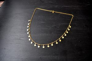 Kerala necklace - gold 1