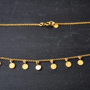 Kerala necklae – gold detail 2