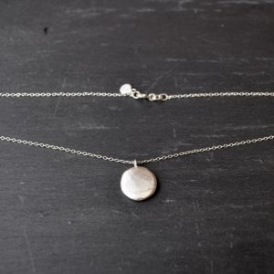 Panama necklace – silver