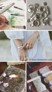 How its made matters- creating sterling silver jewellery by Clare Quinlan
