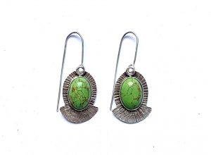 mohave turquoise earrings